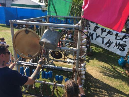 Ripple Rhythms visits The World Music Village at Victorious 2017